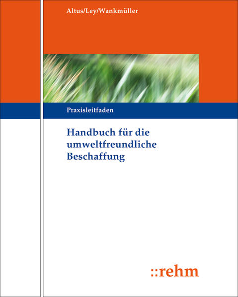Handbuch für die Umweltfreundliche Beschaffung - Coverbild