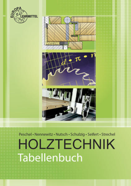 Tabellenbuch Holztechnik - Coverbild