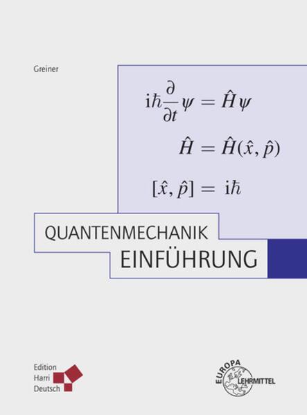 Quantenmechanik - Coverbild