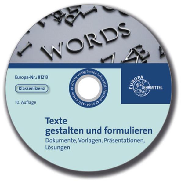 Begleit-CD mit Lösungen zu 81212 - Coverbild