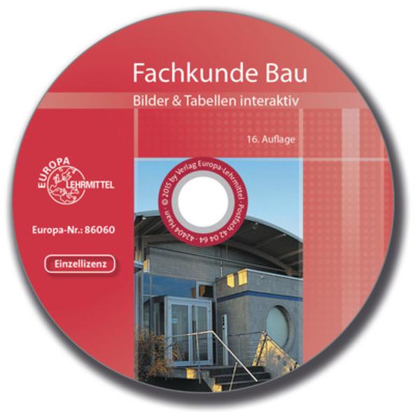 Fachkunde Bau Bilder & Tabellen interaktiv - Coverbild