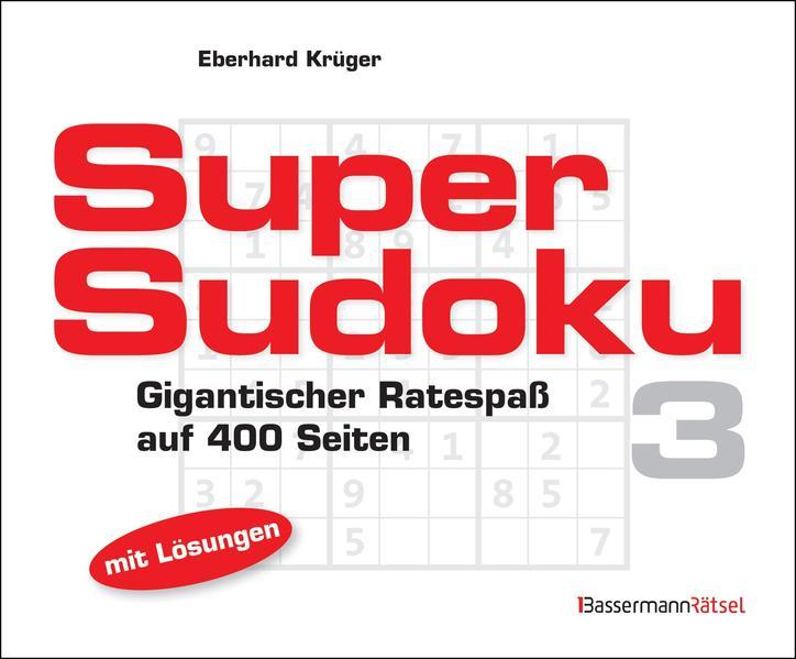 Supersudoku 3 (5 Exemplare à 3,99 €) - Coverbild