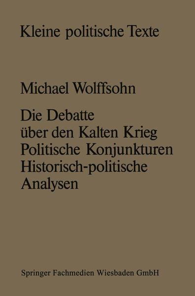 Die Debatte über den Kalten Krieg - Coverbild