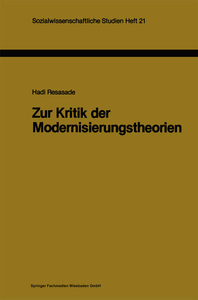 Zur Kritik der Modernisierungstheorien - Coverbild