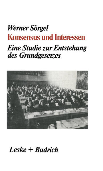 Konsensus und Interessen - Coverbild