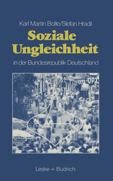 Soziale Ungleichheit in der Bundesrepublik Deutschland - Coverbild