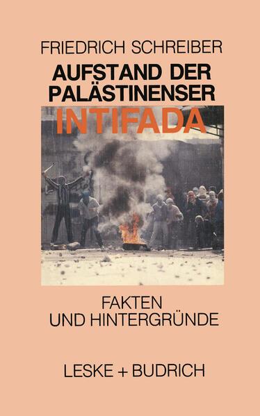 Aufstand der Palästinenser Die Intifada - Coverbild