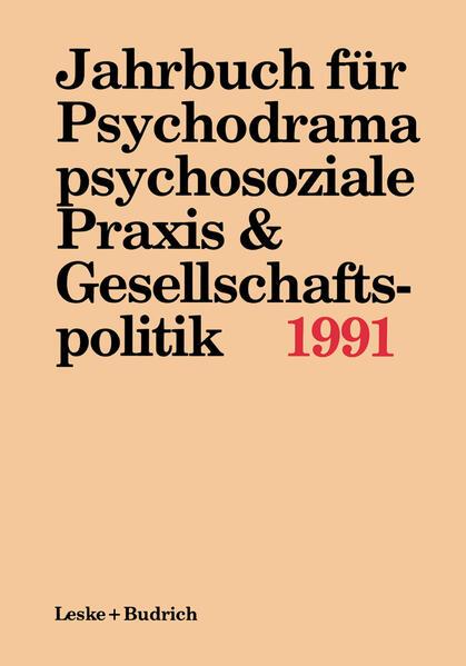 Jahrbuch für Psychodrama, psychosoziale Praxis & Gesellschaftspolitik 1991 - Coverbild