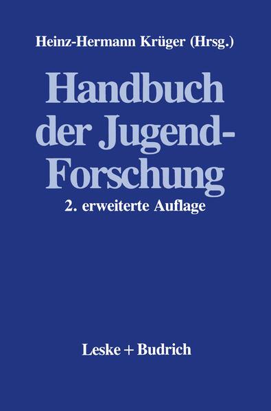 Handbuch der Jugendforschung - Coverbild