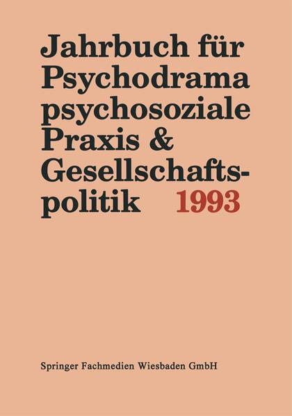 Jahrbuch für Psychodrama, psychosoziale Praxis & Gesellschaftspolitik 1993 - Coverbild