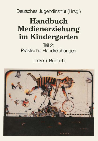 Handbuch Medienerziehung im Kindergarten - Coverbild