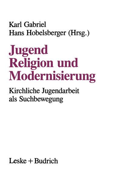 Jugend, Religion und Modernisierung - Coverbild
