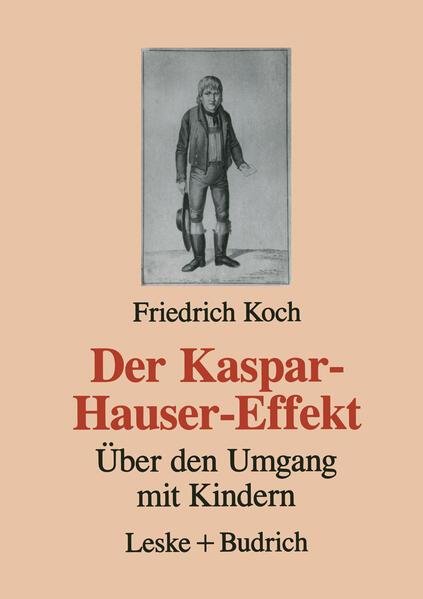 Der Kaspar-Hauser-Effekt - Coverbild