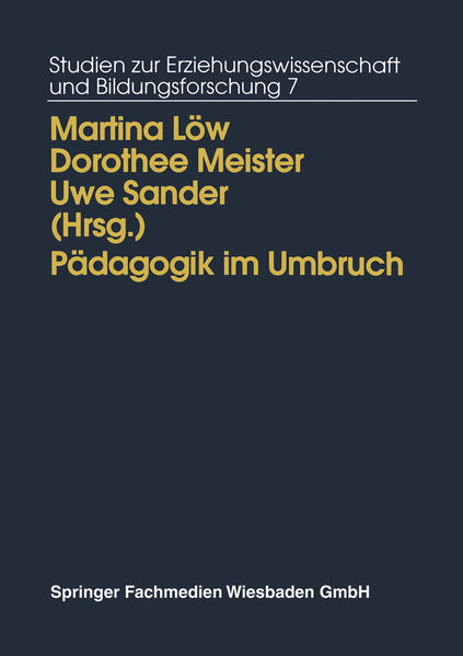 """""""Pädagogik im Umbruch"""" - 978-3810014016 MOBI PDF von Martina Löw"""