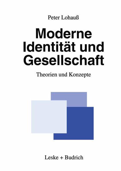 Moderne Identität und Gesellschaft - Coverbild