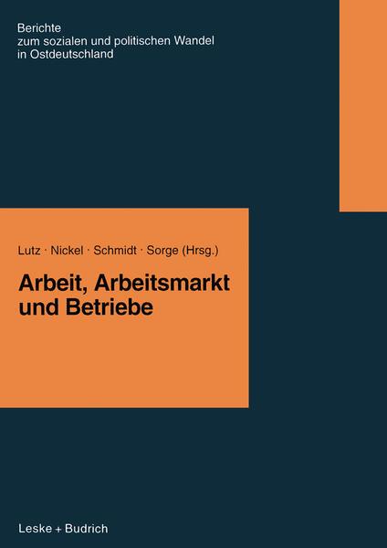 Arbeit, Arbeitsmarkt und Betriebe Laden Sie PDF-Ebooks Herunter