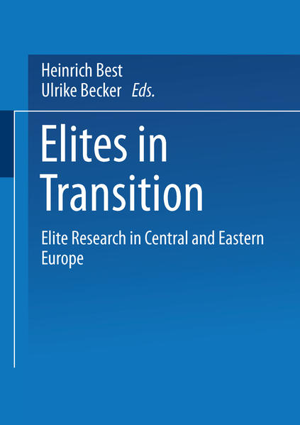 Elites in Transition - Coverbild