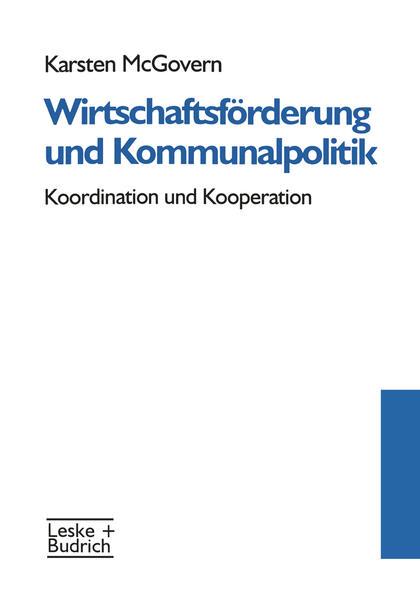 Wirtschaftsförderung und Kommunalpolitik - Coverbild