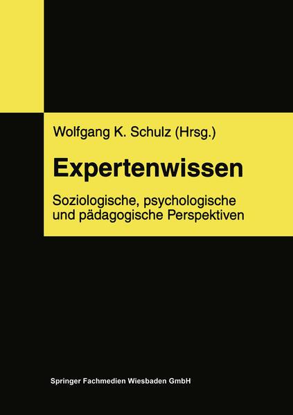 Expertenwissen - Coverbild