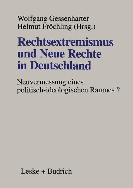Rechtsextremismus und Neue Rechte in Deutschland - Coverbild