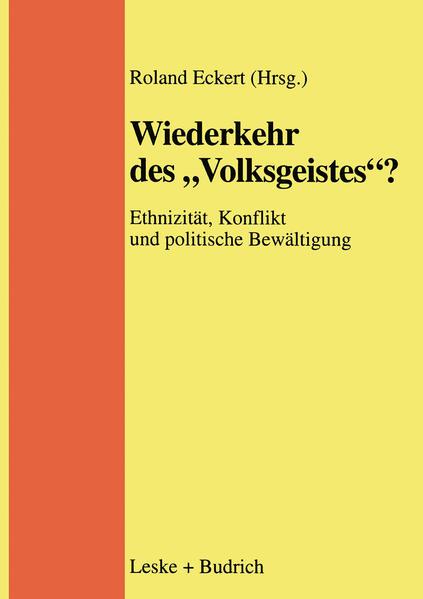 """Wiederkehr des """"Volksgeistes""""? - Coverbild"""