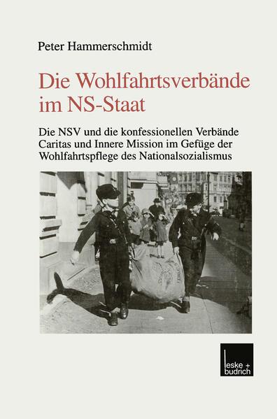 Die Wohlfahrtsverbände im NS-Staat - Coverbild