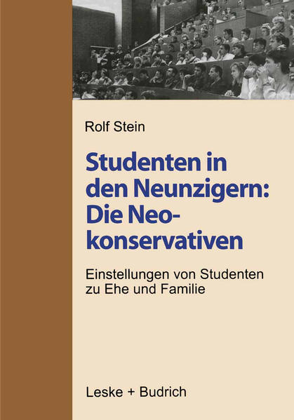 Studenten in den Neunzigern: Die Neokonservativen - Coverbild