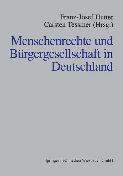Menschenrechte und Bürgergesellschaft in Deutschland - Coverbild