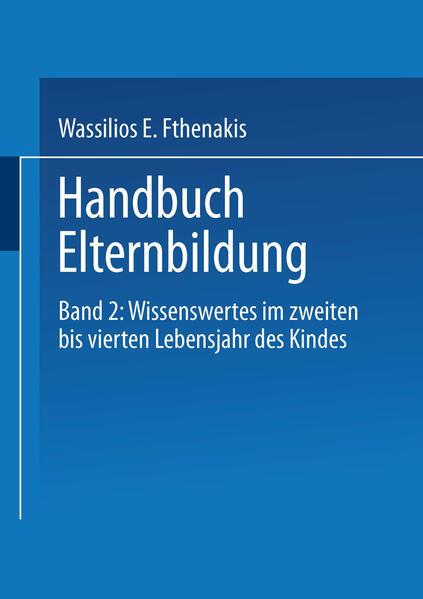 Handbuch Elternbildung - Coverbild