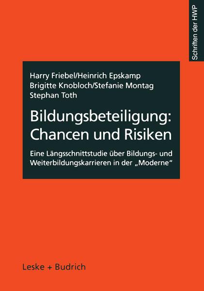 Bildungsbeteiligung: Chancen und Risiken - Coverbild