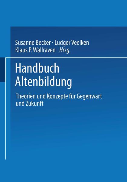 Handbuch Altenbildung - Coverbild