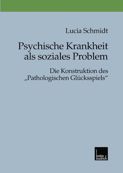 Psychische Krankheit als soziales Problem - Coverbild