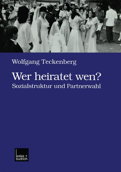 Wer heiratet wen? - Coverbild