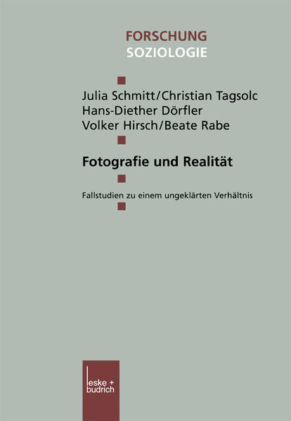 Fotografie und Realität - Coverbild