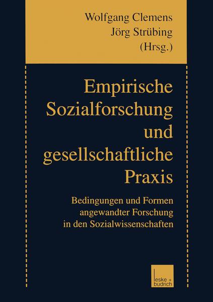 Empirische Sozialforschung und gesellschaftliche Praxis - Coverbild