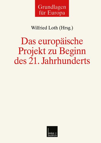 Das europäische Projekt zu Beginn des 21. Jahrhunderts - Coverbild