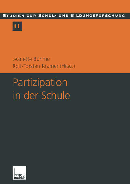 Partizipation in der Schule - Coverbild