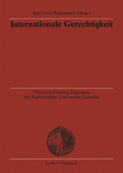 Internationale Gerechtigkeit - Coverbild
