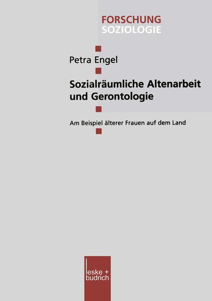 Sozialräumliche Altenarbeit und Gerontologie - Coverbild