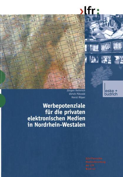 Werbepotenziale für die privaten elektronischen Medien in Nordrhein-Westfalen - Coverbild