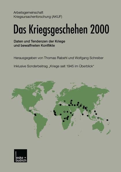Das Kriegsgeschehen 2000 - Coverbild