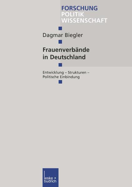 Frauenverbände in Deutschland - Coverbild