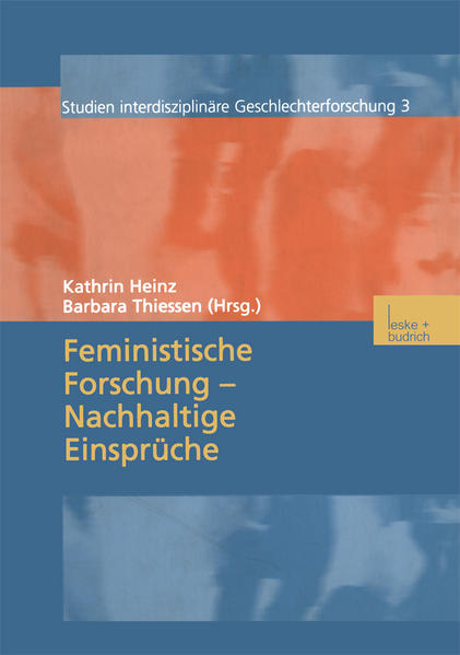 Feministische Forschung — Nachhaltige Einsprüche - Coverbild