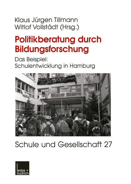 Politikberatung durch Bildungsforschung - Coverbild