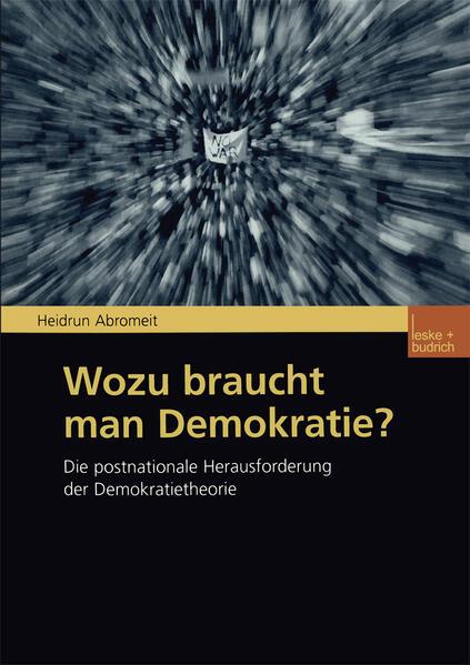 Wozu braucht man Demokratie? - Coverbild