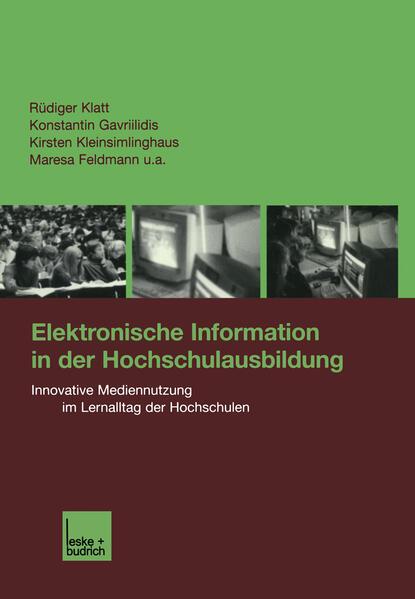 Elektronische Information in der Hochschulausbildung - Coverbild