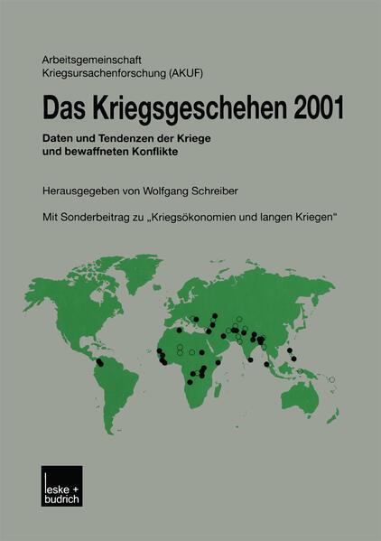 Das Kriegsgeschehen 2001 - Coverbild