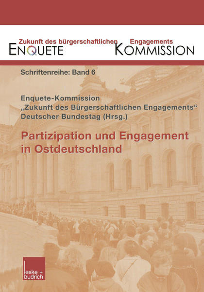 Partizipation und Engagement in Ostdeutschland - Coverbild