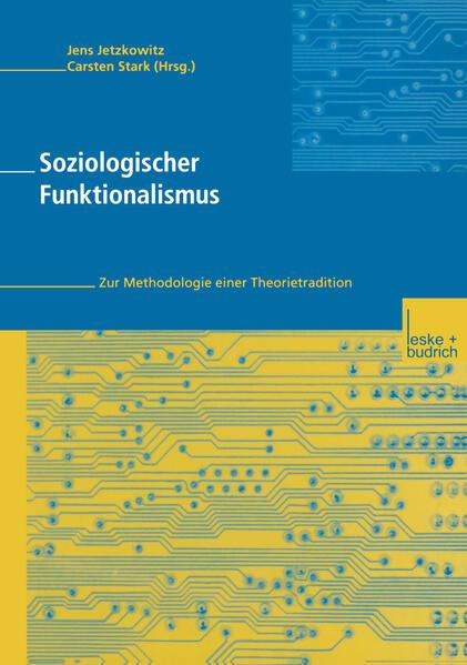 Soziologischer Funktionalismus - Coverbild