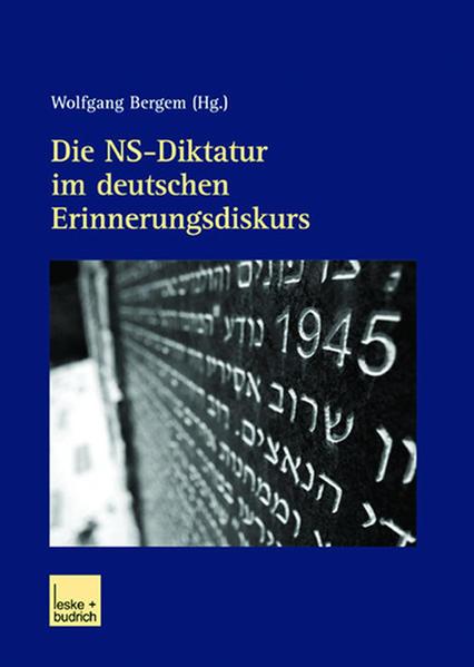 Die NS-Diktatur im deutschen Erinnerungsdiskurs - Coverbild